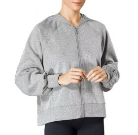 Blusa Jaqueta com zíper e capuz feminina Lupo 77041
