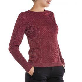 Blusa Sweater Feminina Sem Costura Loba Lupo -