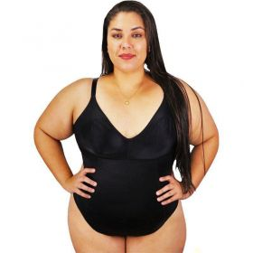 Body Plus Size Modelador sem Bojo Nayane Rodrigues Magic
