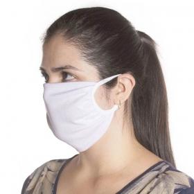 Brinde 1 Máscara de Proteção em Tecido de Algodão Reutilizável