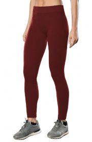 Calça legging canelada para academia - Roupa feminina da Lupo -