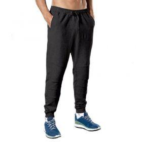 Calça masculina de moletom para academia fitness Lupo 76387
