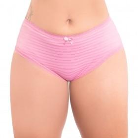 Calcinha cintura alta modelo tanga KIT com 3 Stillus