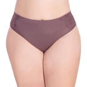 Calcinha gestante modelo tanga com cintura alta Linha Mãe Nayane Rodrigues