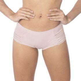 Calcinha modelo tanga com renda de algodão juvenil coleção Glitter Econfort --