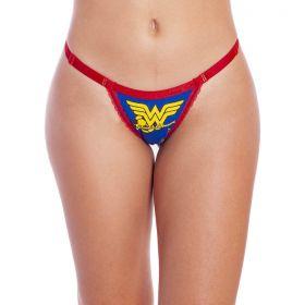 Calcinha Tanga Wonder Woman  -