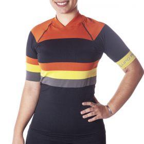 Camisa ciclismo feminina Lupo