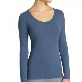 Camiseta Blusa feminina manga longa algodão roupa Loba Lupo 45138