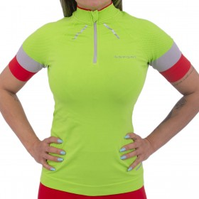Camiseta ciclismo feminina Lupo