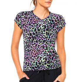 Camiseta Feminina AF Crepe Estampada Lupo Sport -