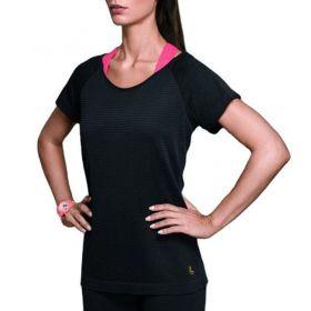 Camiseta feminina para academia e corrida - Roupa fitness Lupo 71627 .