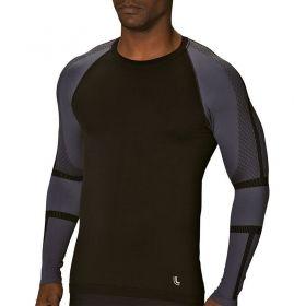 Camiseta Masculina Lupo Warm Run Manga Longa -