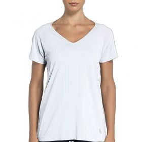 Camiseta manga curta feminina roupa academia ginástica fitness Lupo 71600
