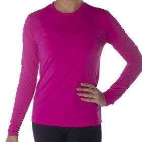 Camiseta manga longa feminina com proteção UV Selene