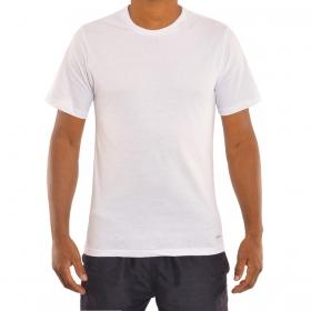 Camiseta masculina básica em algodão Mash