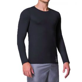 Camiseta masculina manga longa com proteção UV Selene