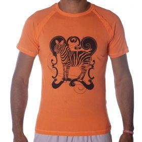 Camiseta Masculina Zebra Estampada  -