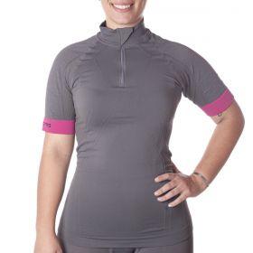 Camiseta para ciclismo feminina Lupo