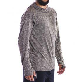 Camiseta com Capuz Lupo - T-Shirt Running .
