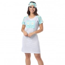 Camisola feminina para o verão de manguinha Victory
