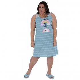 Camisola plus size verão feminino Victory