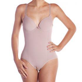 Cinta body modelador com bojo compressão Leluc