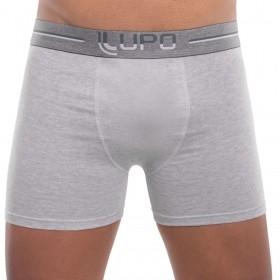 Cueca boxer algodão masculina adulto Lupo