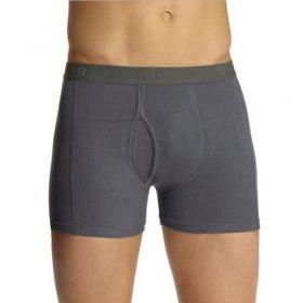 Cueca masculina de algodão modelo boxer com abertura frontal Lupo 660