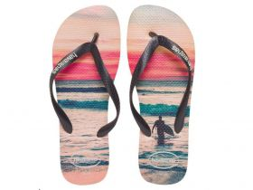 Chinelo Havaianas Masculina Hype Pôr do Sol Adulto