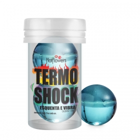 HOT BALL TERMO SHOCK 2 UNIDADES HOT FLOWERS