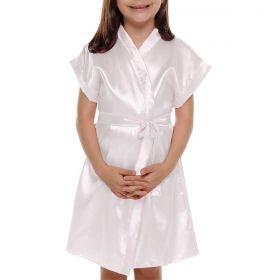 KIT 16 Robe infantil feminino em cetim