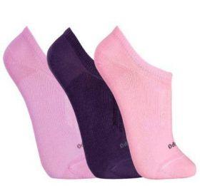Kit 3 meias feminina soquetes Lupo