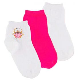Kit 3 Pares de Meia Feminina Basic Socks Lupo