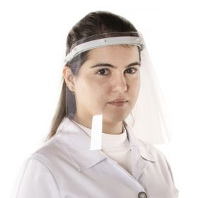 KIT com 10 Máscaras para proteção facial de acrílico transparente