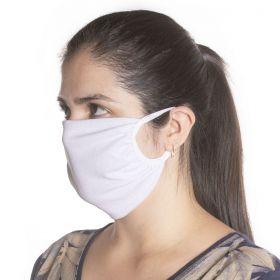 Kit com 10 Unidades de Máscaras de Proteção em Algodão Reutilizável