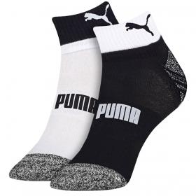 Kit com 2 pares de meias esportiva masculina cano curto Puma