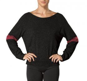 Blusa manga longa para academia e yogui feminina da Lupo