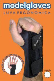 Luva ergonômica para digitação suporte para punho munhequeira  Esbelt -