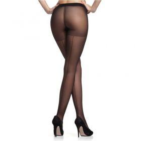 Meia Calça Feminina Modelo Com Risca Atrás Fio 15 Trifil