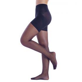 Meia calça feminina up line levanta bumbum fio 15 modeladora Loba Lupo