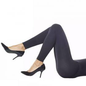 Meia calça legging segunda pele feminina fio 110 sem costura Loba Lupo -