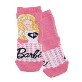 Meia infantil feminina cano curto Barbie Lupo -