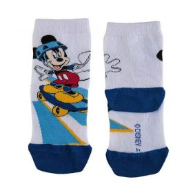 Meia infantil masculina cano curto Mickey  Lupo -