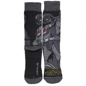 Meia Lupo Urban Cano Alto Estampada Star Wars Darth Vader -