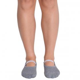 Meia sapatilha antiderrapante pilates Trifil