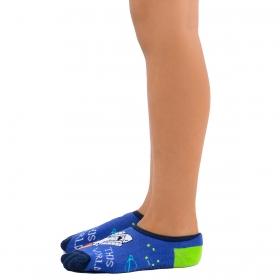Meia sapatilha infantil para menino Selene