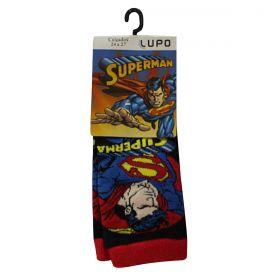Meias Algodão Infantil Superman DC Lupo