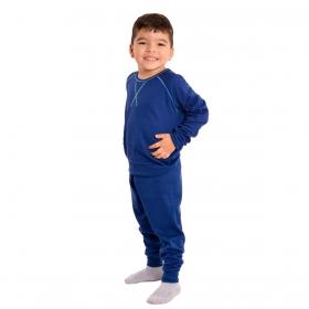 Pijama baby para menino de inverno peluciado Victory
