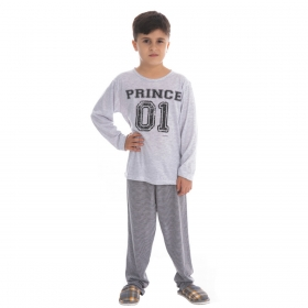 Pijama Coleção Família Filho de inverno Victory
