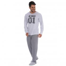 Pijama Coleção Família Pai de inverno Victory